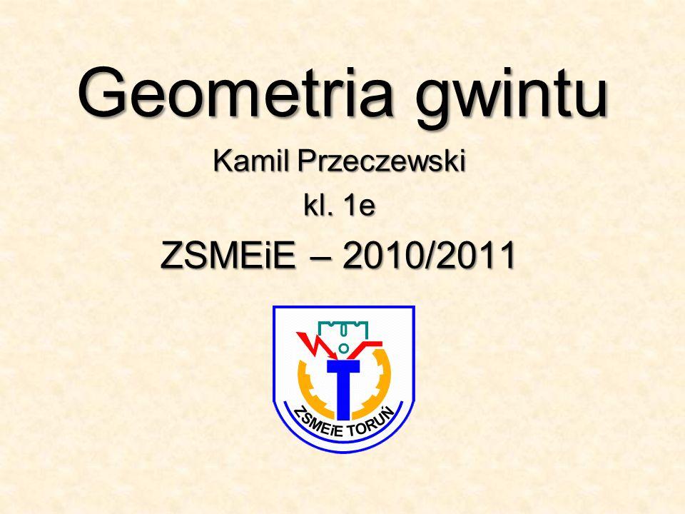 Kamil Przeczewski kl. 1e ZSMEiE – 2010/2011