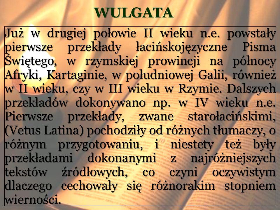 WULGATA