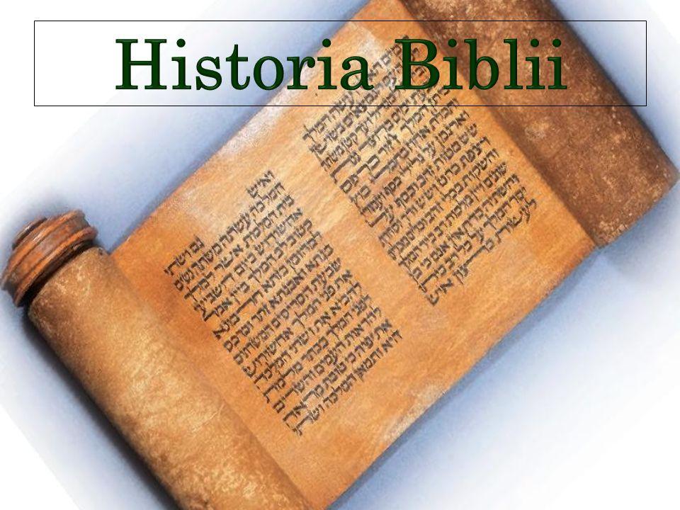 Historia Biblii