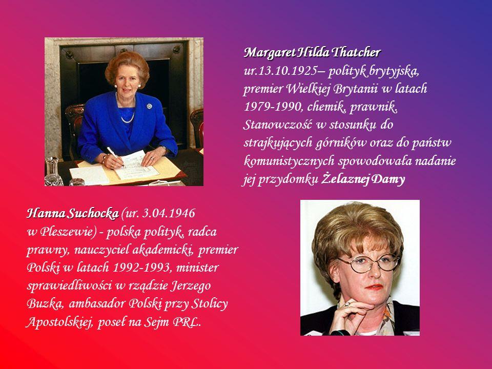 Margaret Hilda Thatcher ur. 13. 10