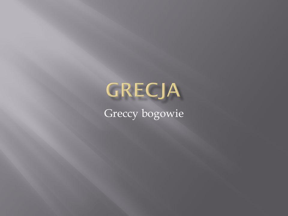 Grecja Greccy bogowie