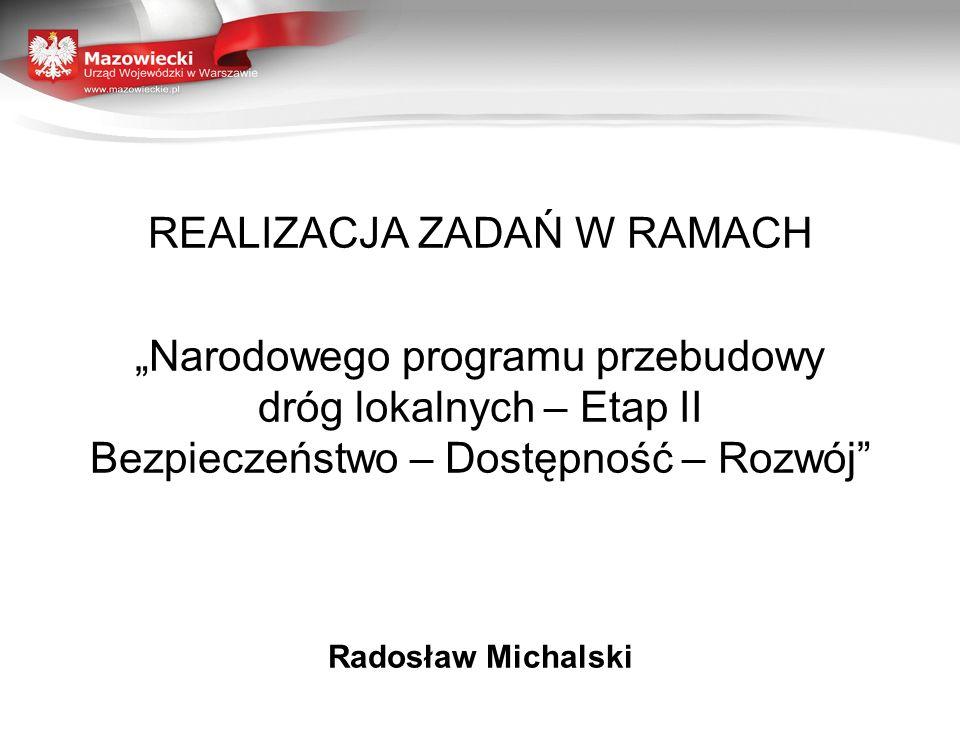 REALIZACJA ZADAŃ W RAMACH