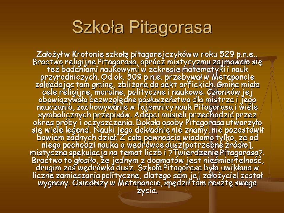 Szkoła Pitagorasa