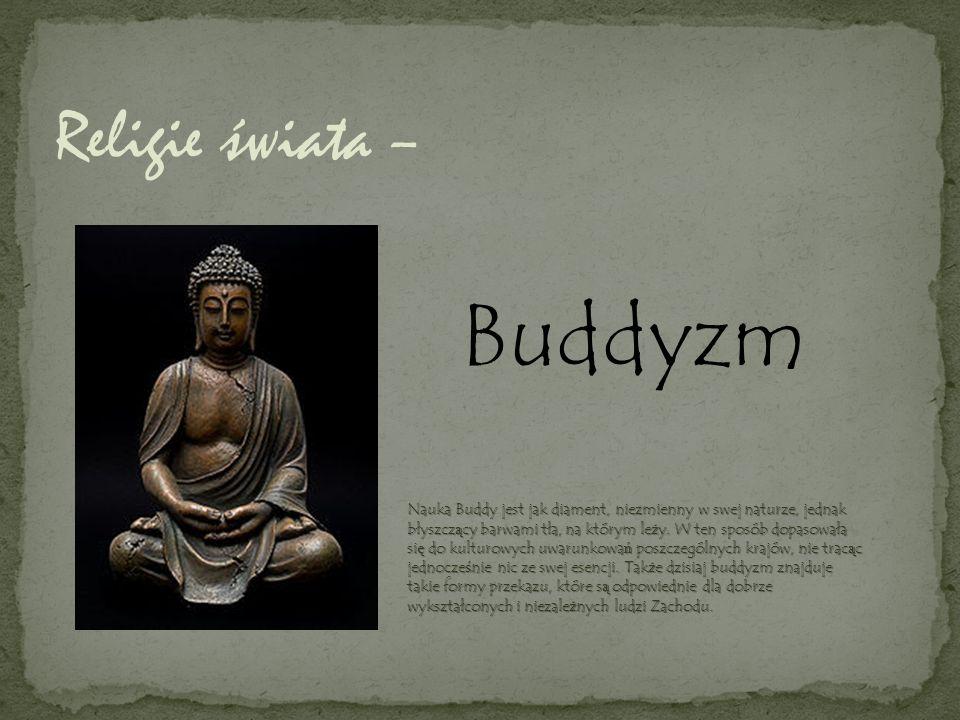 Buddyzm Religie świata –