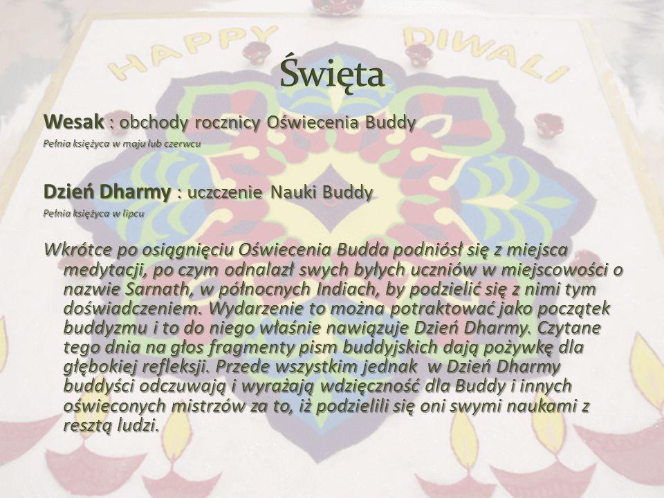 Święta Wesak : obchody rocznicy Oświecenia Buddy