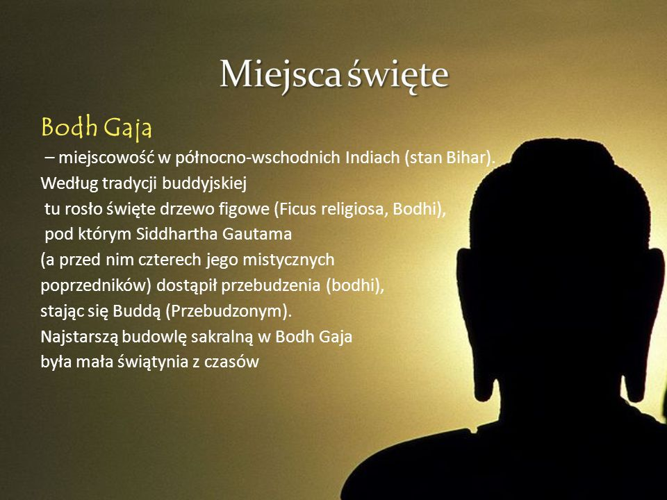 Miejsca święte Bodh Gaja