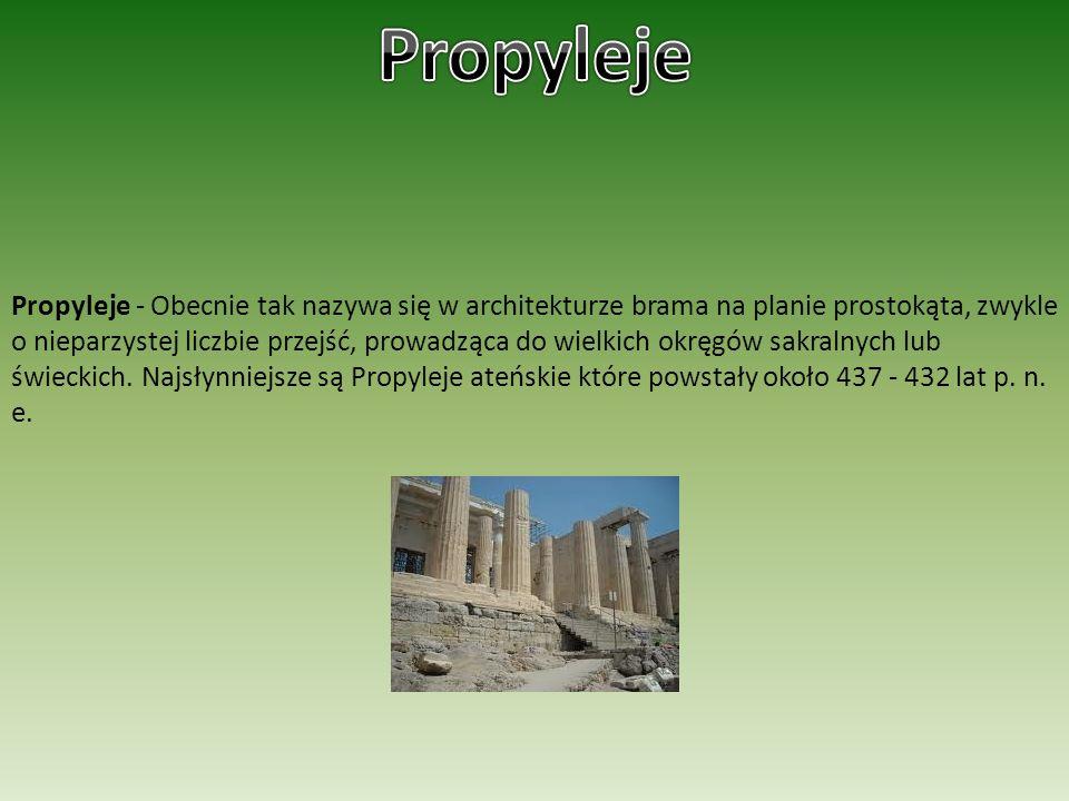 Propyleje