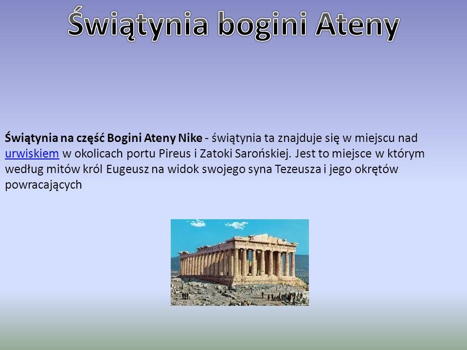 Świątynia bogini Ateny