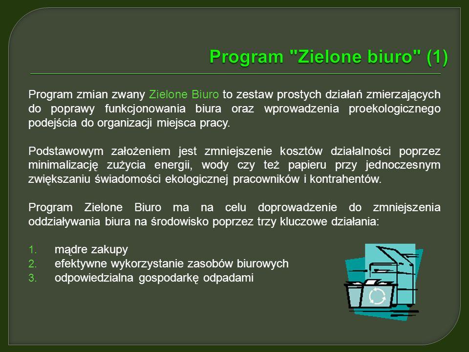 Program Zielone biuro (1)