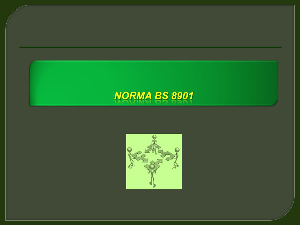 Norma bS 8901 Norma BS 8901