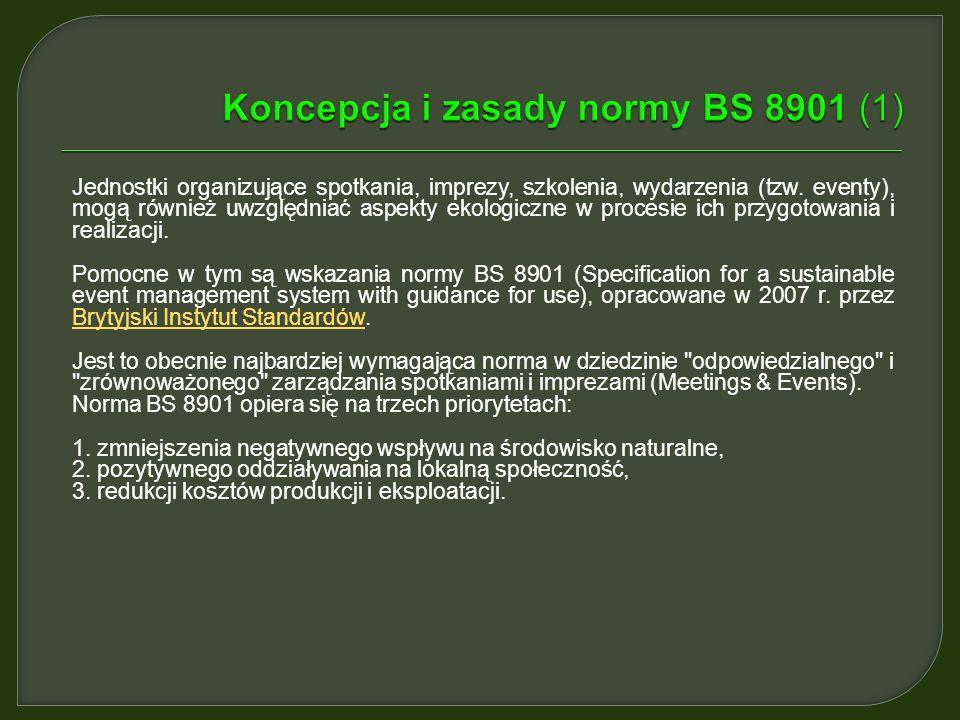 Koncepcja i zasady normy BS 8901 (1)