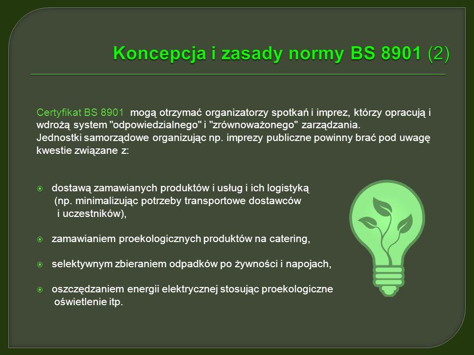 Koncepcja i zasady normy BS 8901 (2)