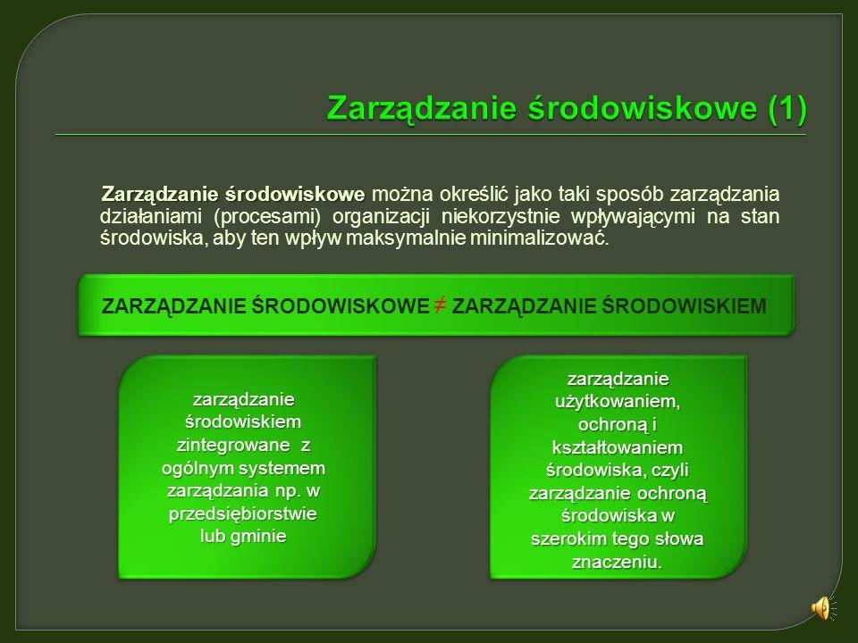 Zarządzanie środowiskowe (1)