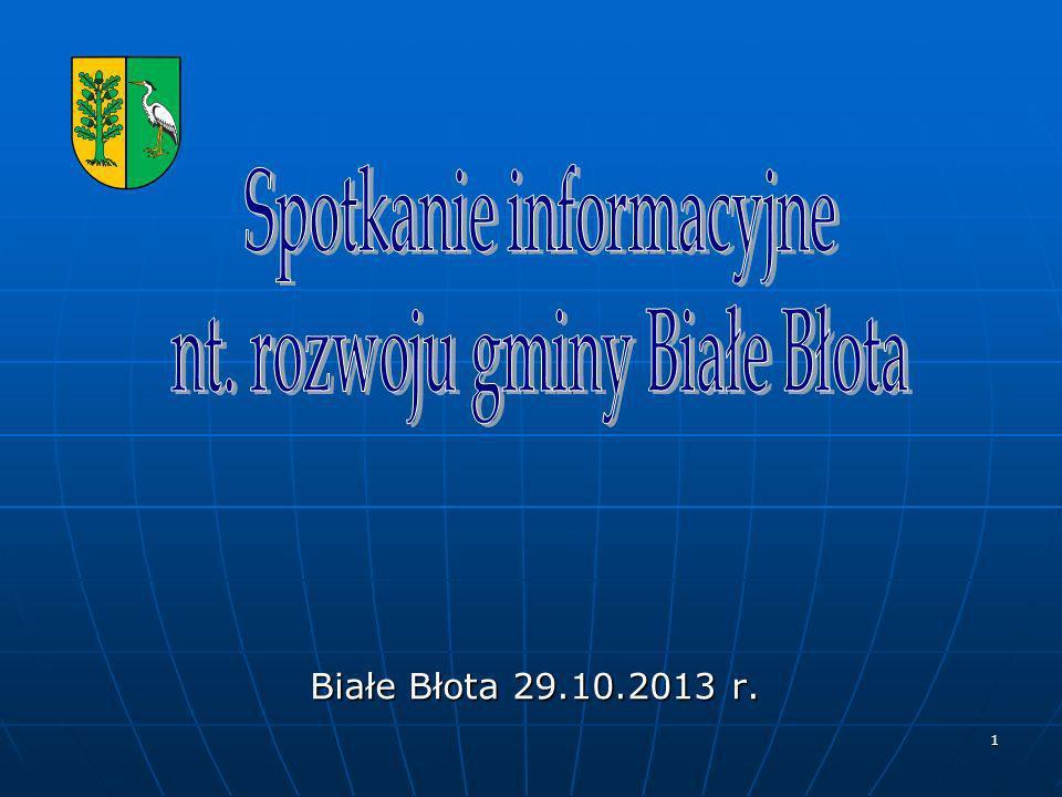 Spotkanie informacyjne nt. rozwoju gminy Białe Błota