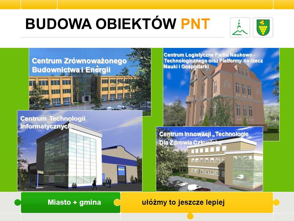 BUDOWA OBIEKTÓW PNT Centrum Zrównoważonego Budownictwa i Energii