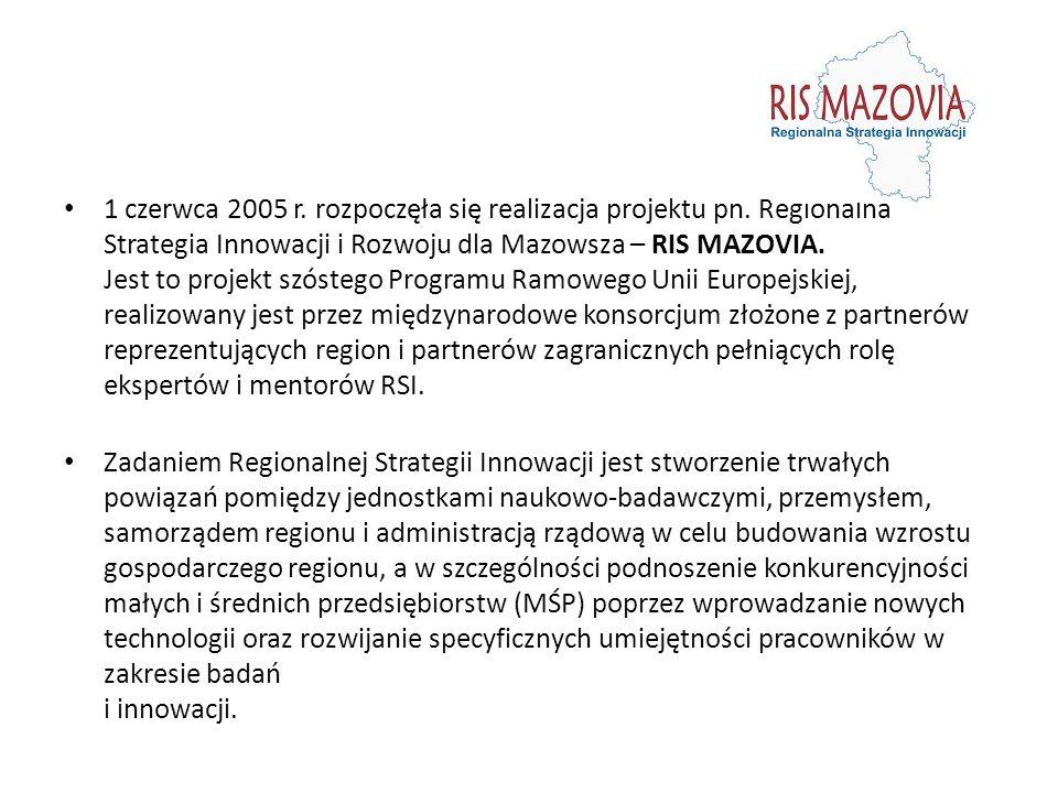 1 czerwca 2005 r. rozpoczęła się realizacja projektu pn