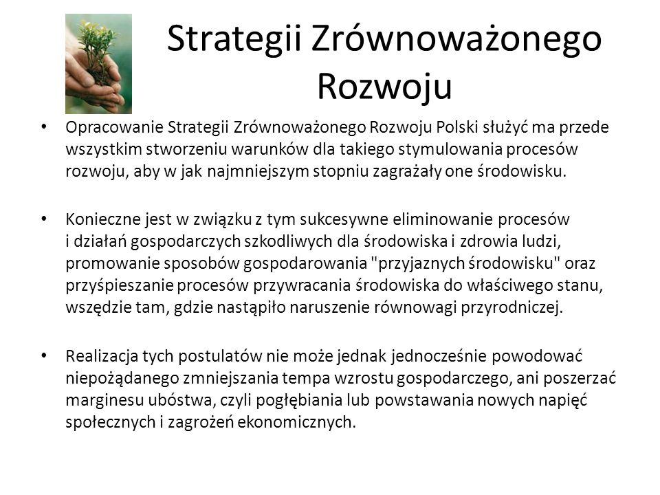 Strategii Zrównoważonego Rozwoju