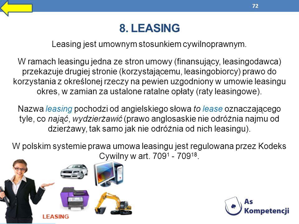 8. Leasing