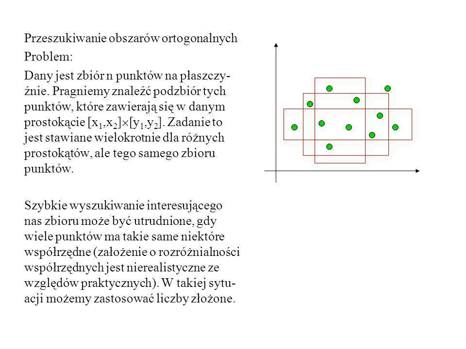 Przeszukiwanie obszarów ortogonalnych