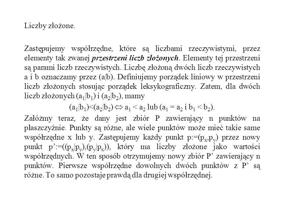 (a1|b1)<(a2|b2)  a1 < a2 lub (a1 = a2 i b1 < b2).