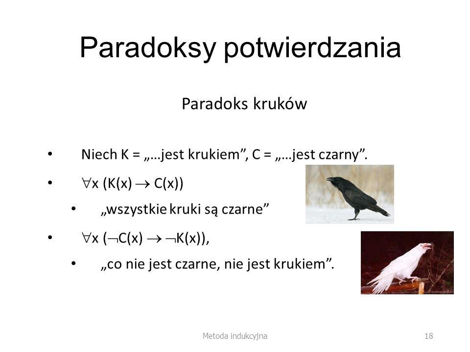 Paradoksy potwierdzania
