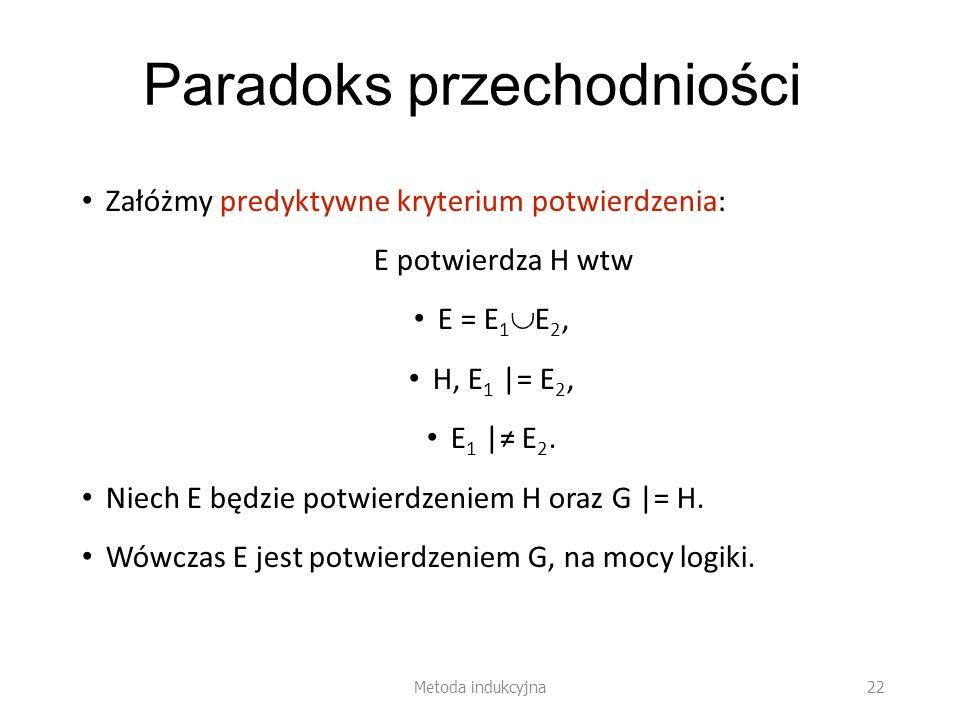 Paradoks przechodniości
