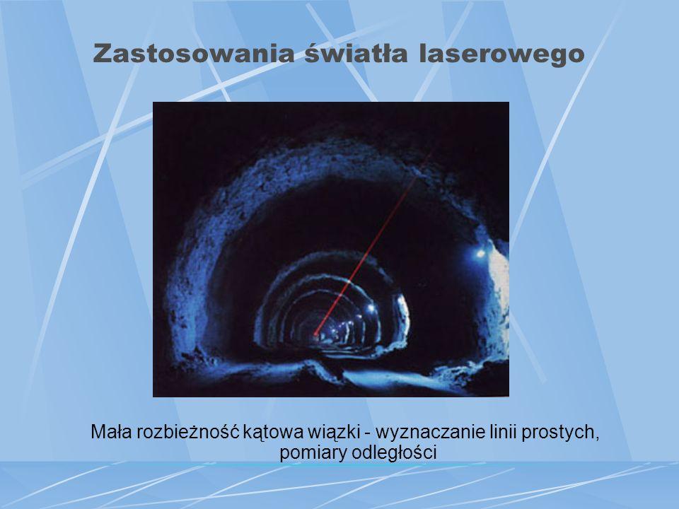 Zastosowania światła laserowego