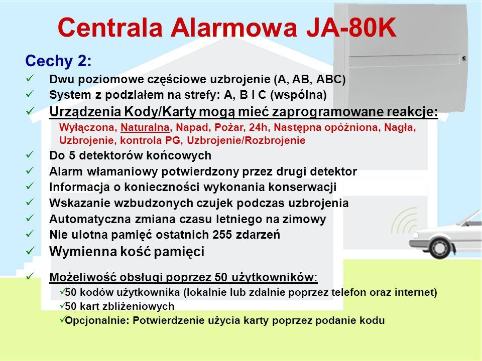 Centrala Alarmowa JA-80K