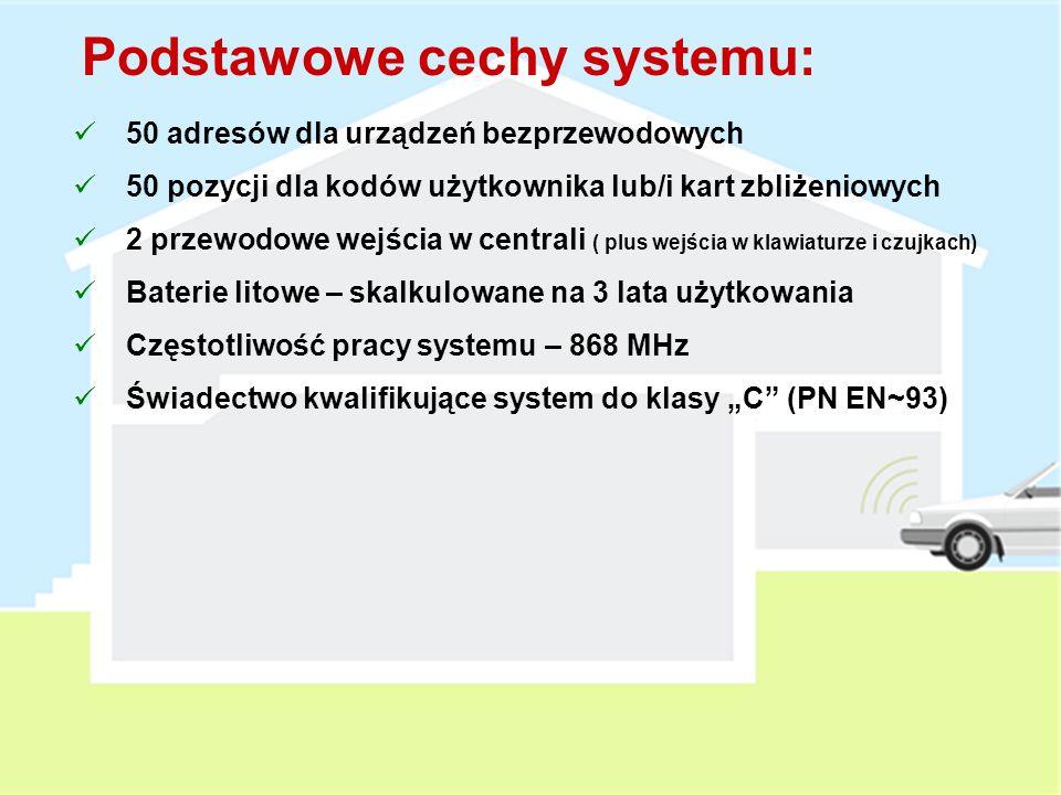 Podstawowe cechy systemu: