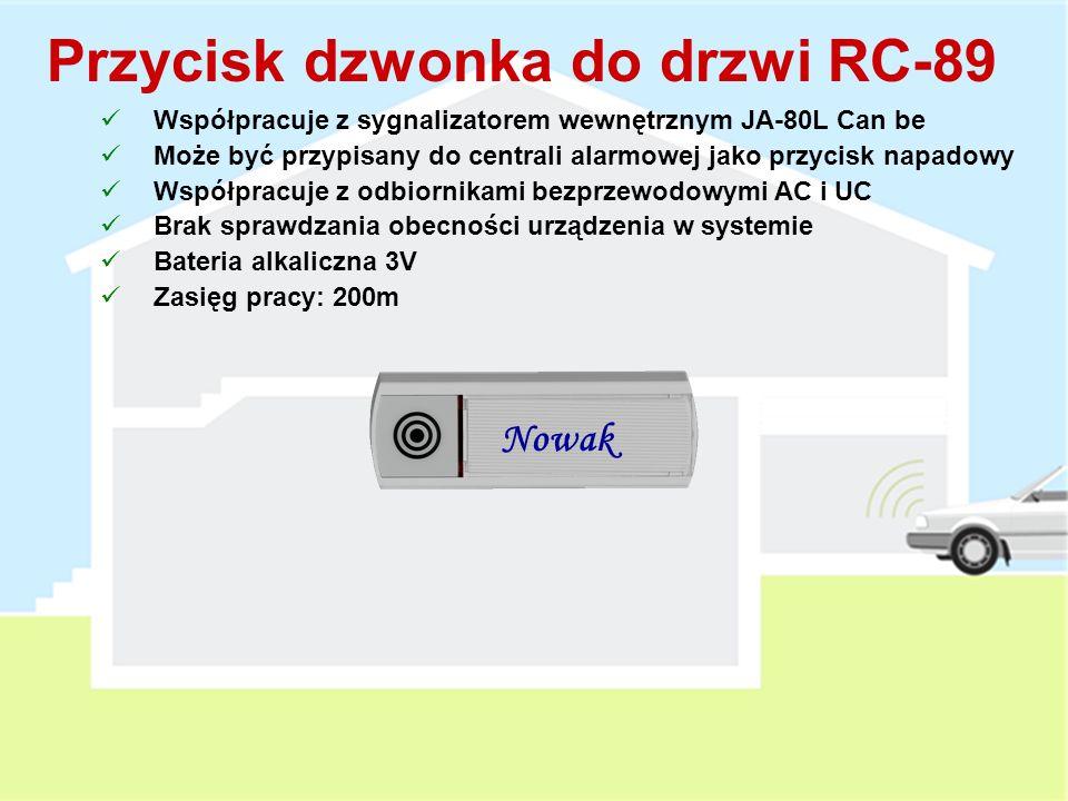 Przycisk dzwonka do drzwi RC-89