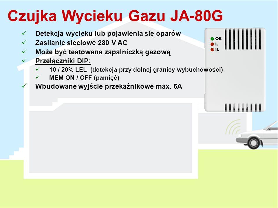 Czujka Wycieku Gazu JA-80G