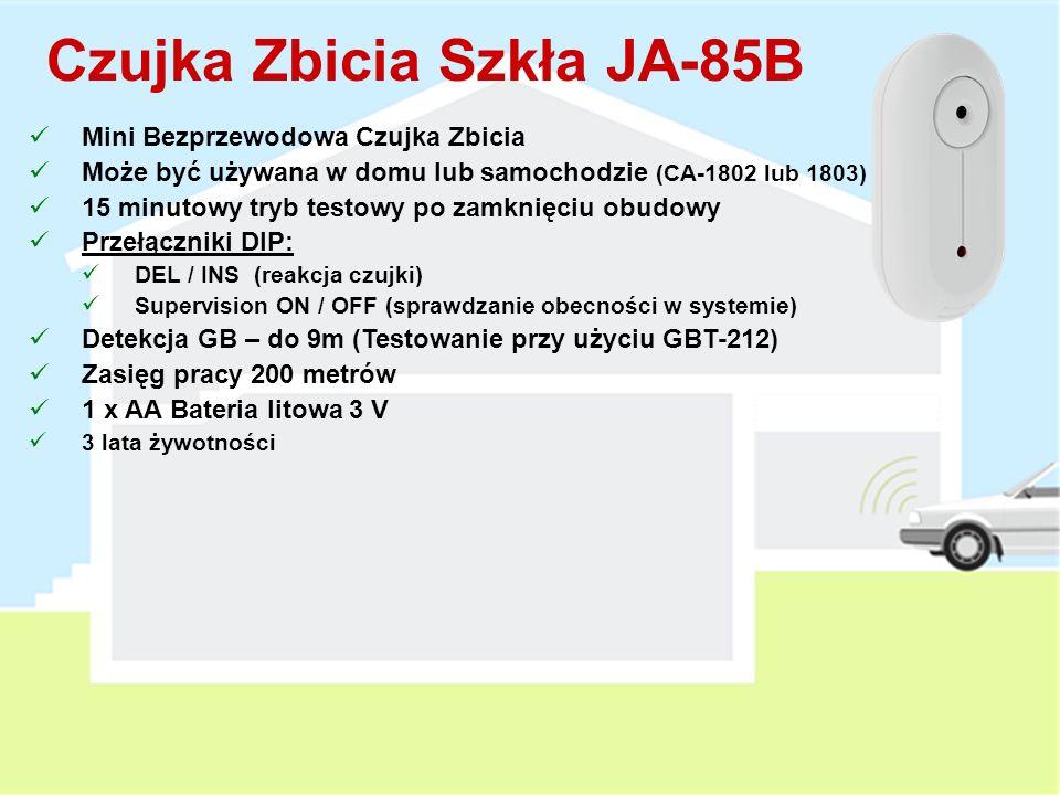 Czujka Zbicia Szkła JA-85B