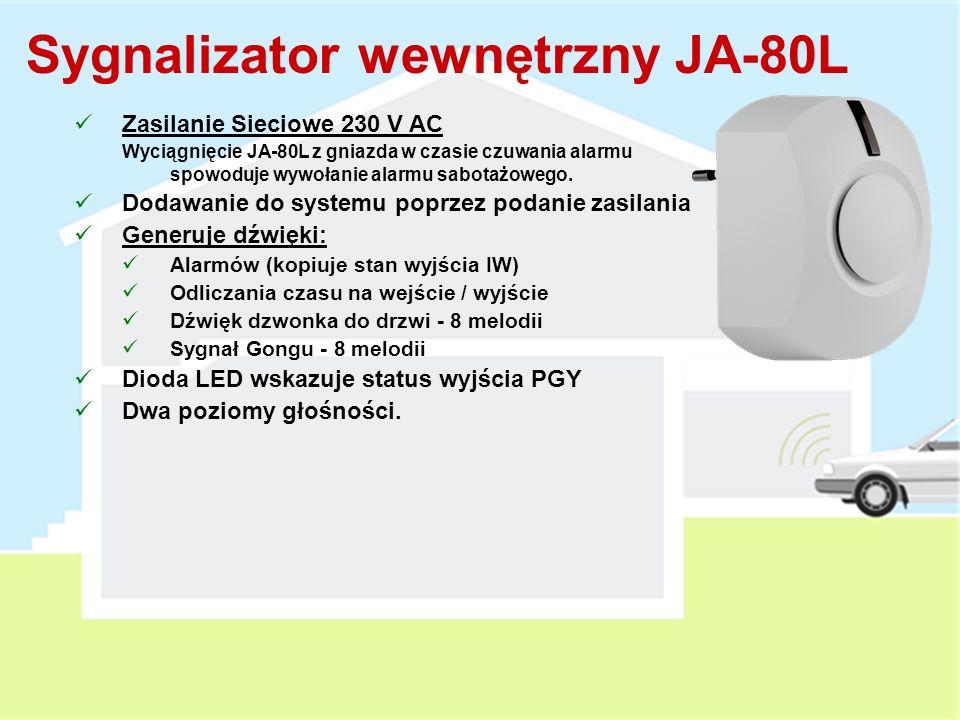 Sygnalizator wewnętrzny JA-80L