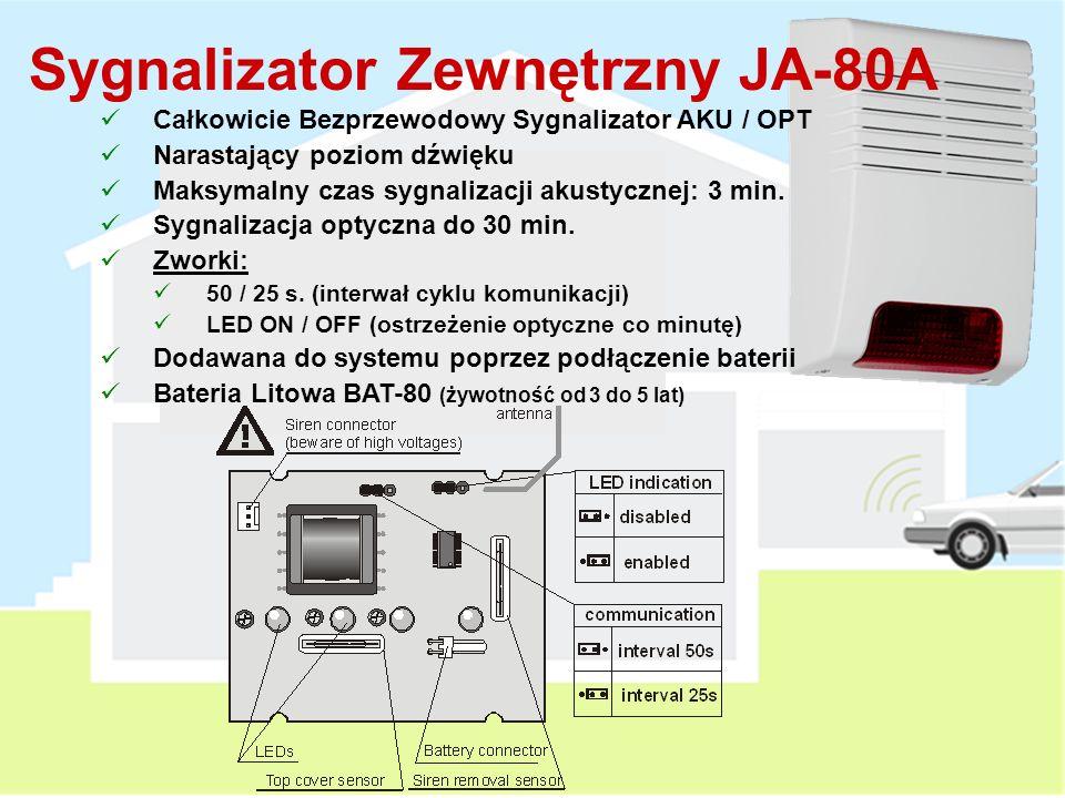 Sygnalizator Zewnętrzny JA-80A