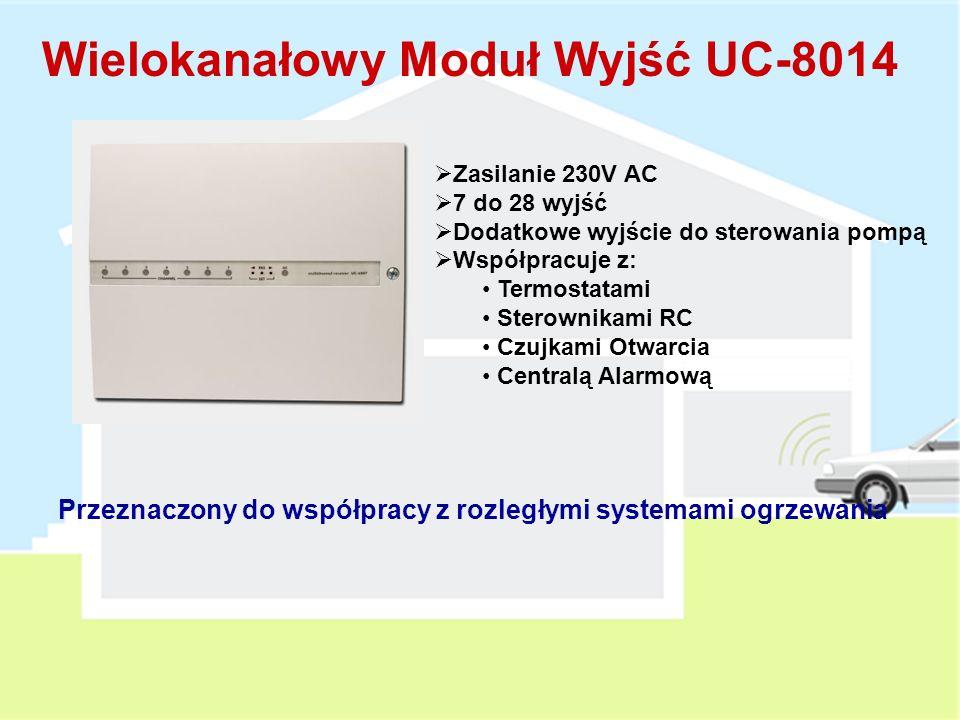 Wielokanałowy Moduł Wyjść UC-8014