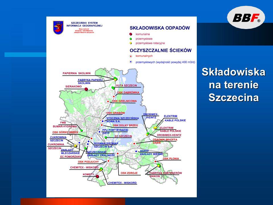 Składowiska na terenie Szczecina