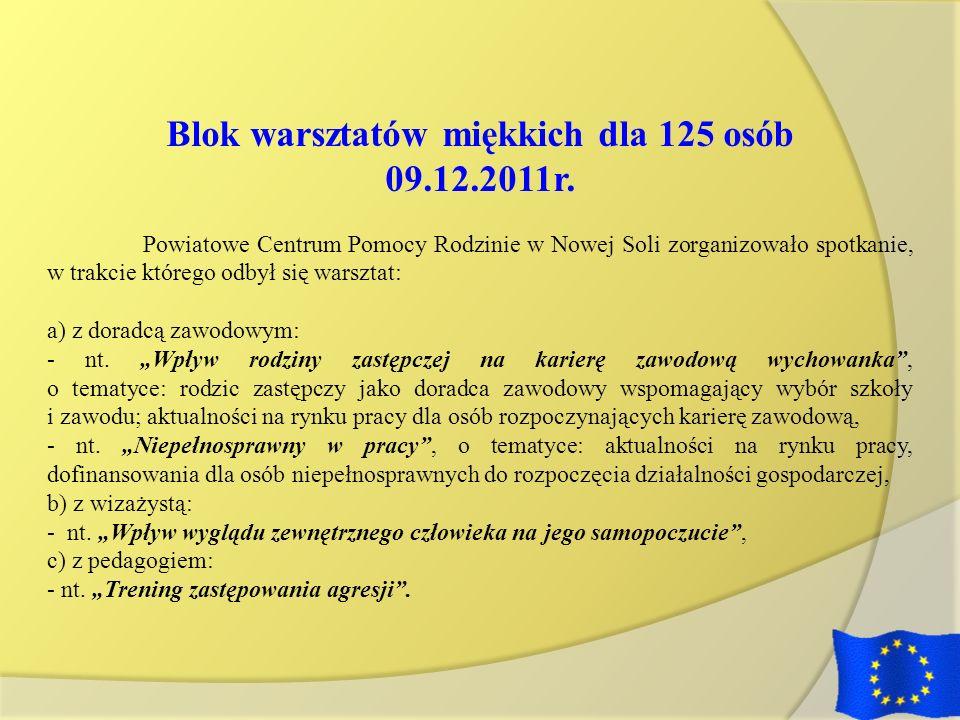 Blok warsztatów miękkich dla 125 osób
