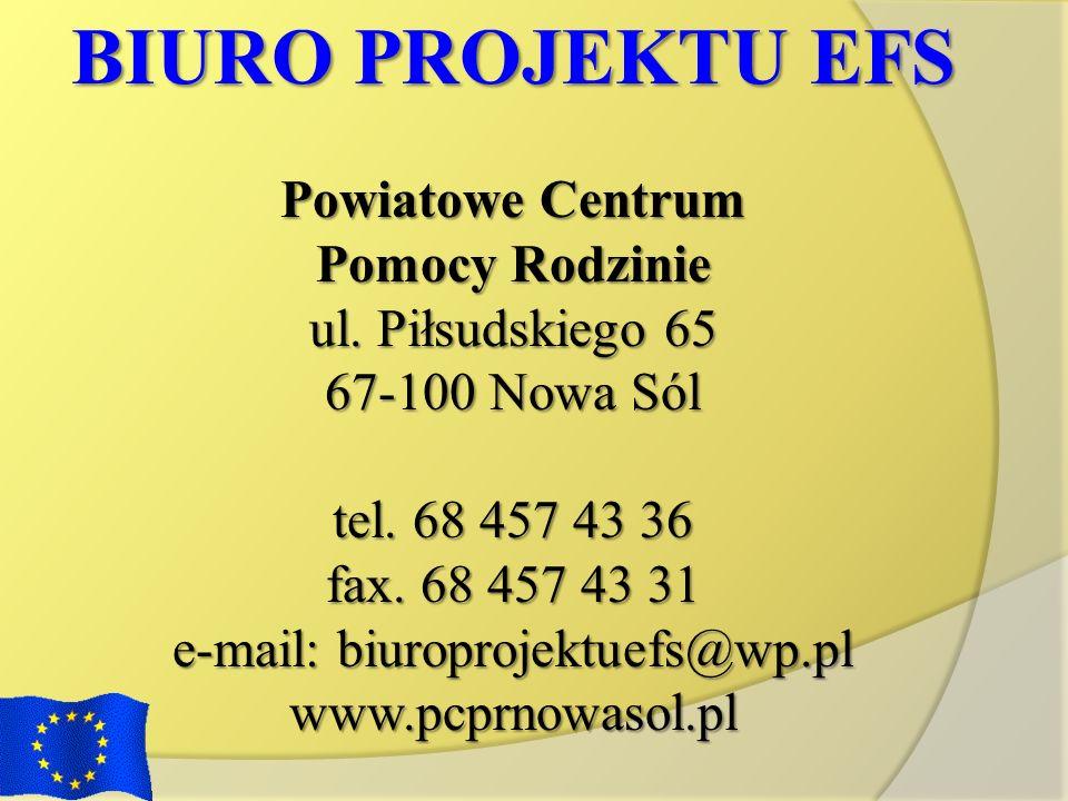 e-mail: biuroprojektuefs@wp.pl