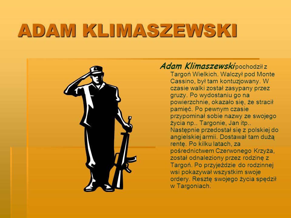 ADAM KLIMASZEWSKI