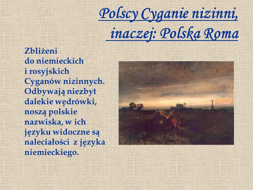 Polscy Cyganie nizinni, inaczej: Polska Roma