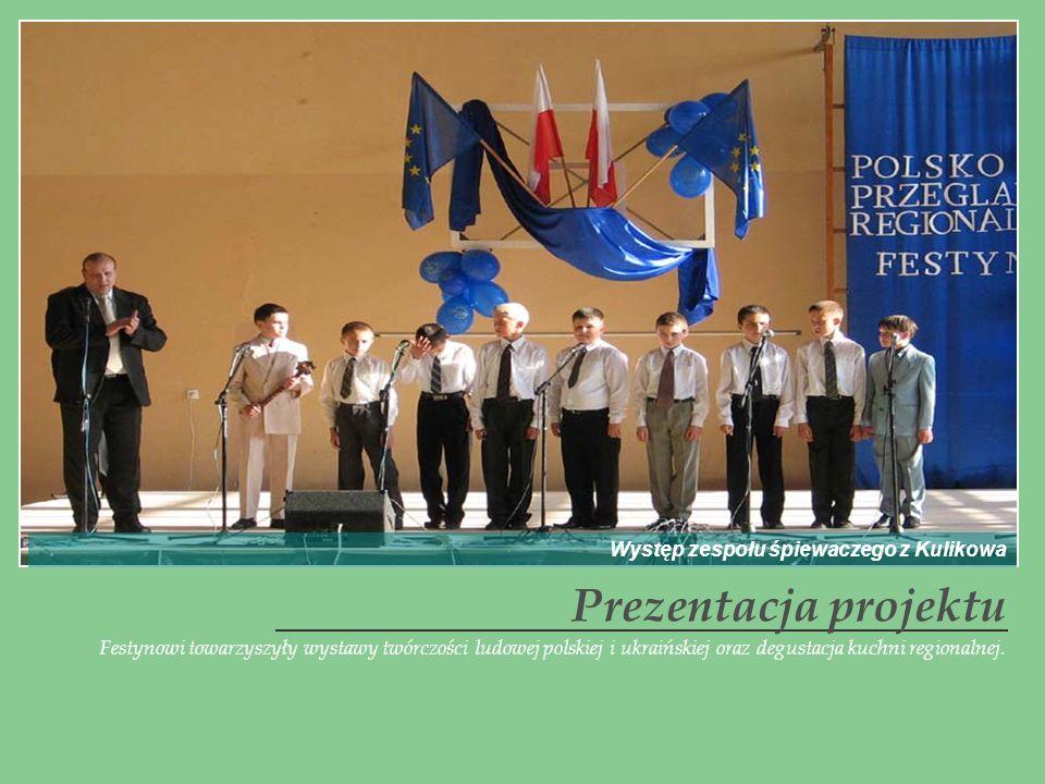 Prezentacja projektu Występ zespołu śpiewaczego z Kulikowa