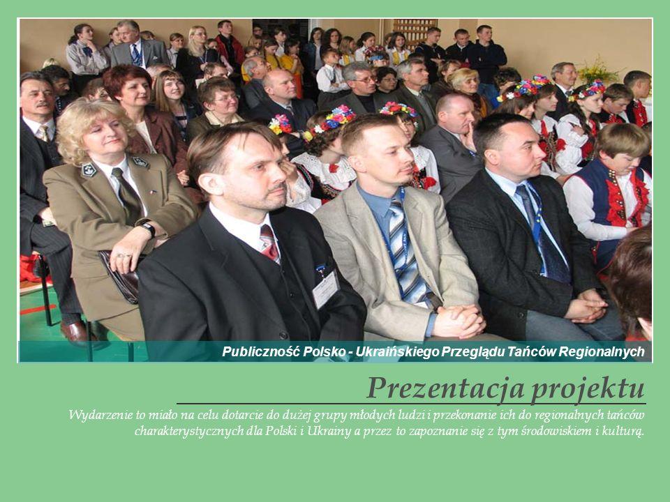 Publiczność Polsko - Ukraińskiego Przeglądu Tańców Regionalnych