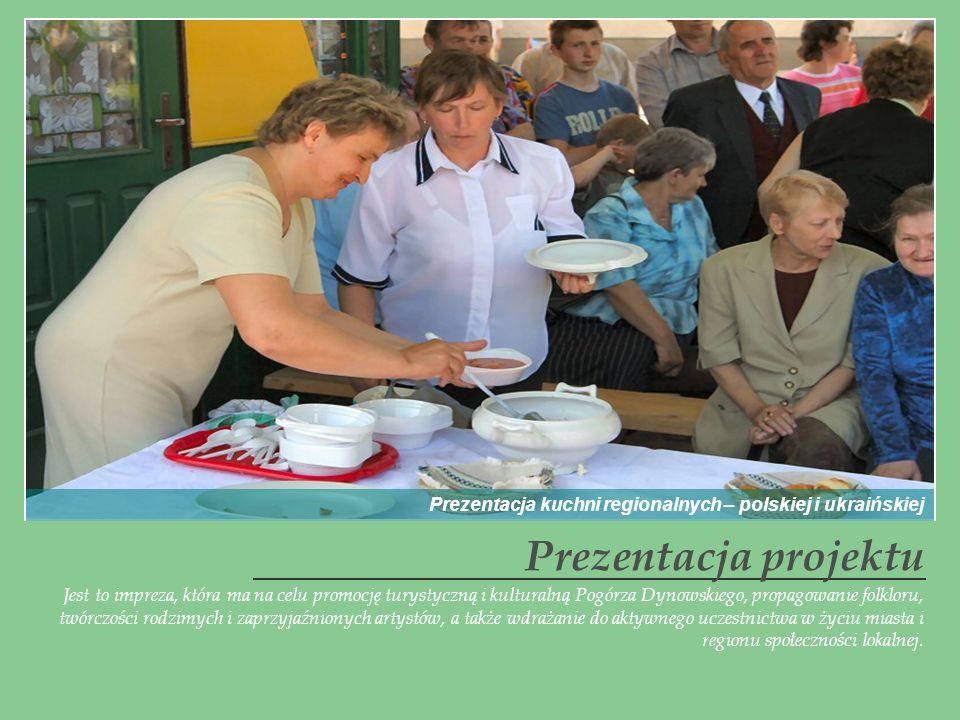 Prezentacja kuchni regionalnych – polskiej i ukraińskiej