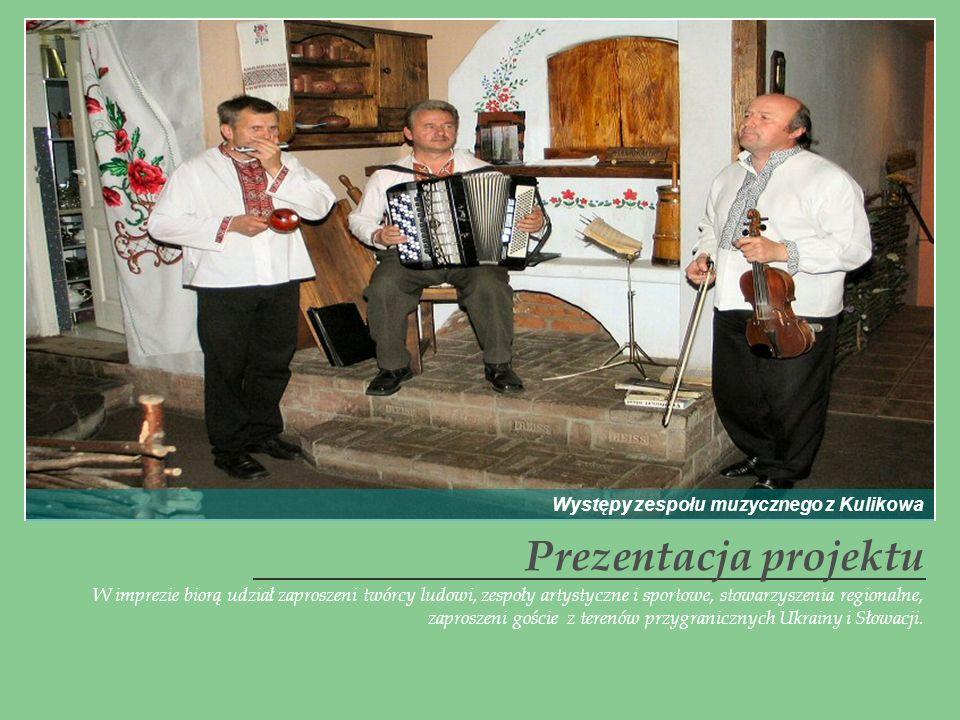 Prezentacja projektu Występy zespołu muzycznego z Kulikowa