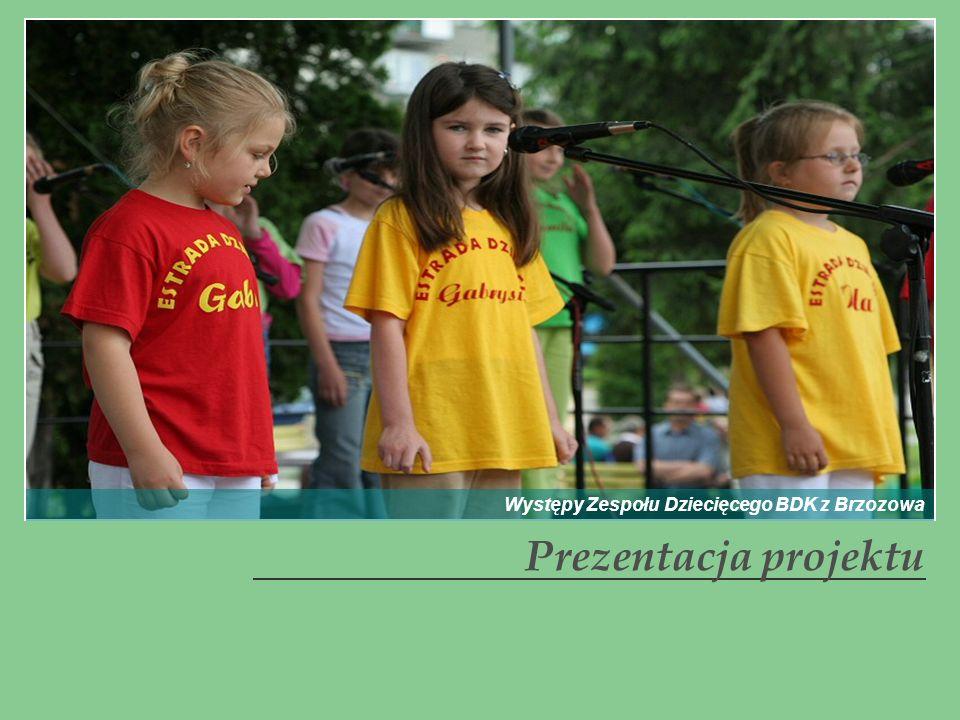Występy Zespołu Dziecięcego BDK z Brzozowa
