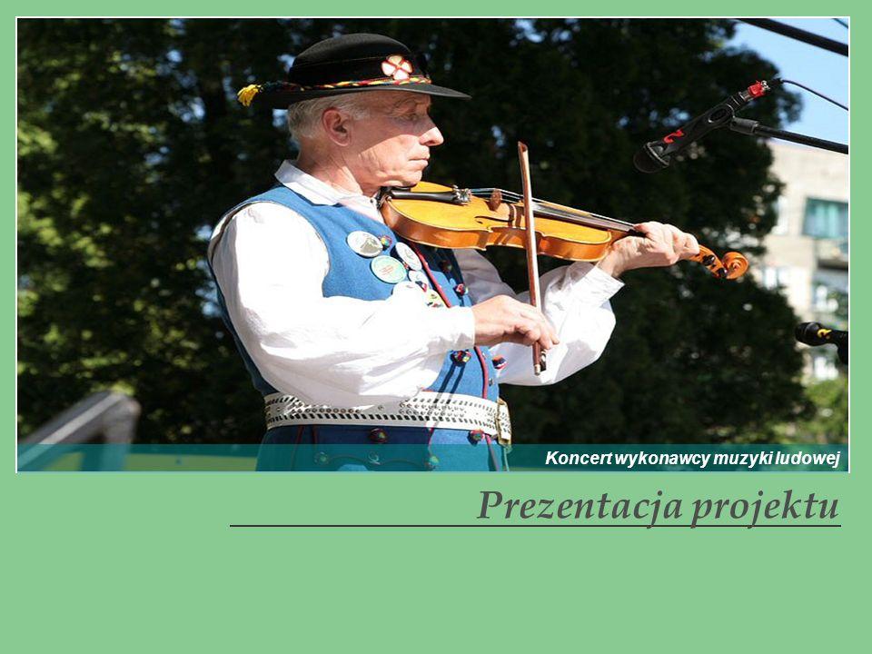 Koncert wykonawcy muzyki ludowej