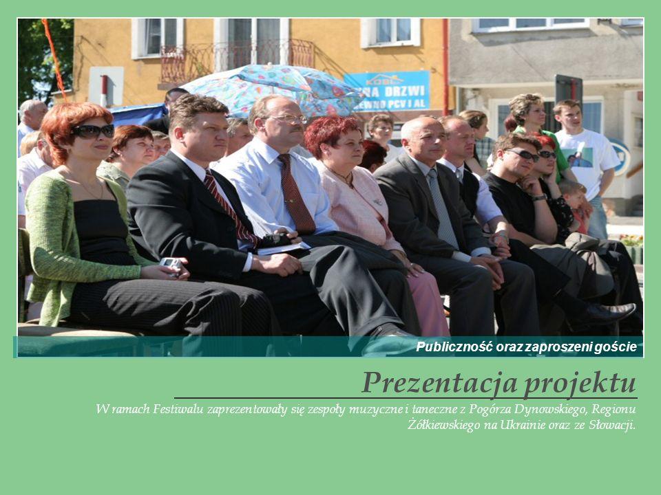 Prezentacja projektu Publiczność oraz zaproszeni goście