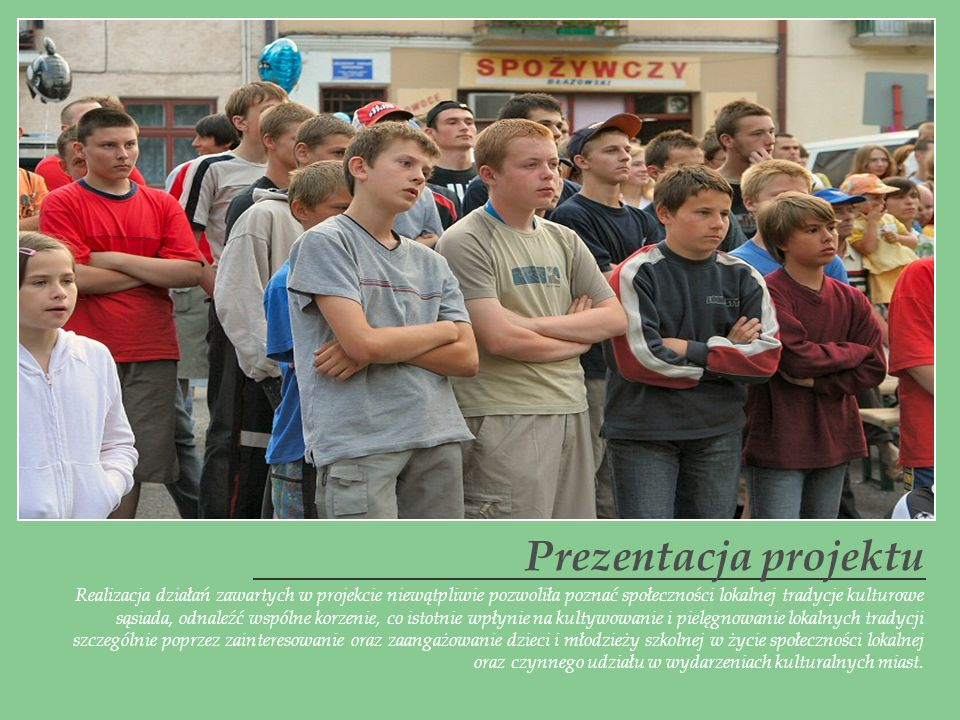 Prezentacja projektu