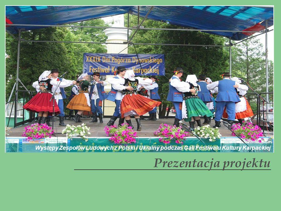 Występy Zespołów Ludowych z Polski i Ukrainy podczas Gali Festiwalu Kultury Karpackiej