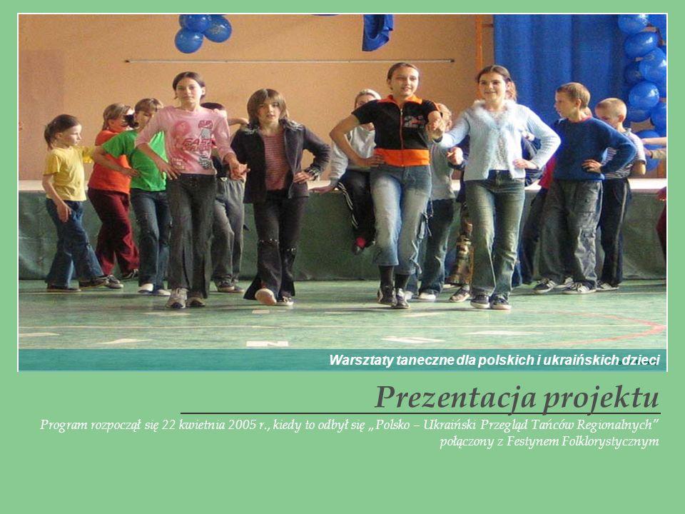 Warsztaty taneczne dla polskich i ukraińskich dzieci